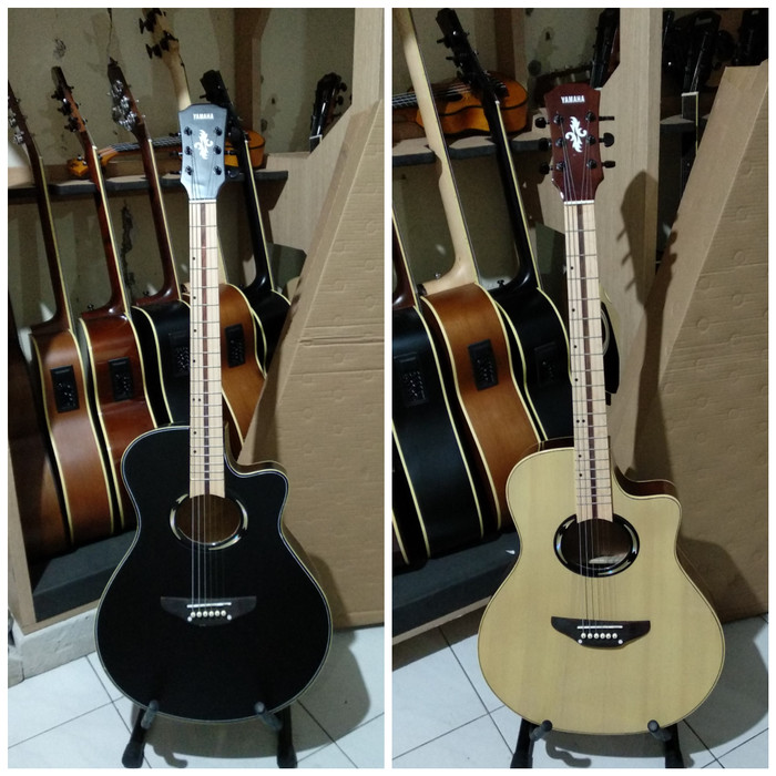 harga Gitar yamaha apx 500ii natural & black neck maple limited Tokopedia.com
