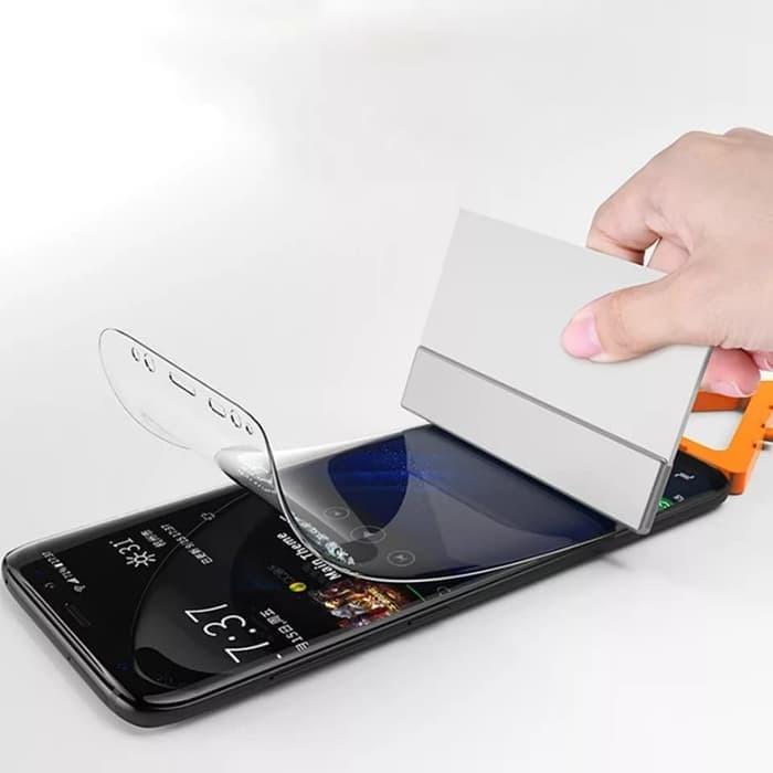 harga Samsung galaxy s10 lite / s10e anti gores screen guard hydrogel bening Tokopedia.com