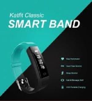 Foto Produk Smartband Createkat Classic Gelang Pintar pelacak kebugaran - Biru dari Cellular Mas