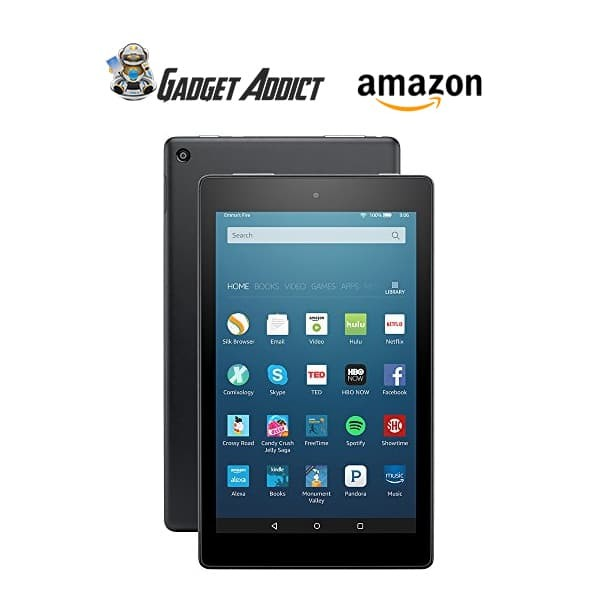 harga Amazon fire hd 8 with alexa 32 gb with special offers - hitam Tokopedia.com
