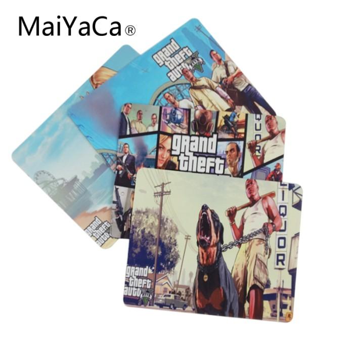 Jual MaiYaCa GTA 5 Pantai Cuaca Komputer Gaming Pad untuk Mouse Pad Karet -  Kab  Tabalong - Connect Shop | Tokopedia
