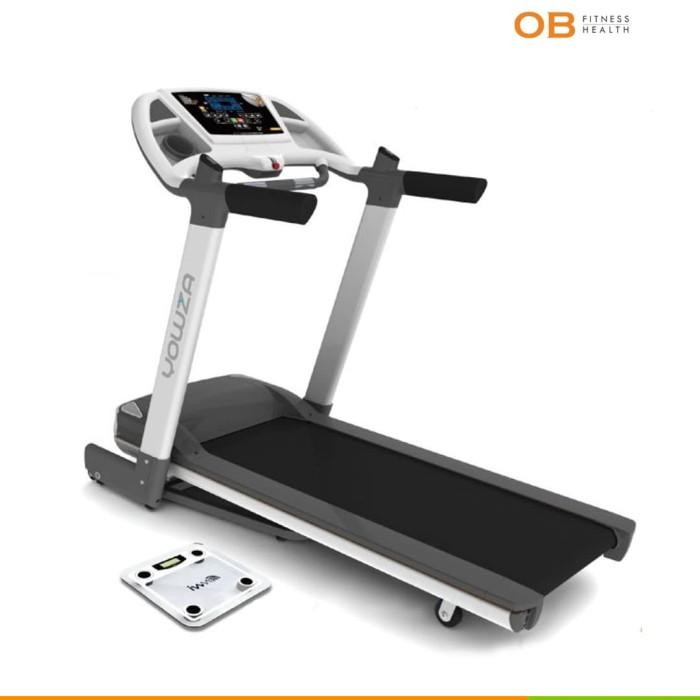 harga Ob fit ob/pr-510 new premium promo big electric treadmill for home use Tokopedia.com