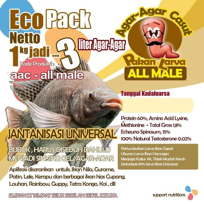 Jual Aac Allmale Pakan Larva Jantanisasi Universal Kab Bekasi Nickkaren Tokopedia