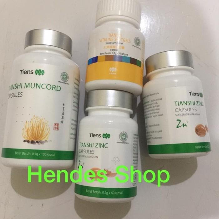 Foto Produk Paket Bombardir Tiens 2 Zinc 1 Muncord 1 Vitaline Original 100% dari Hendes Shop