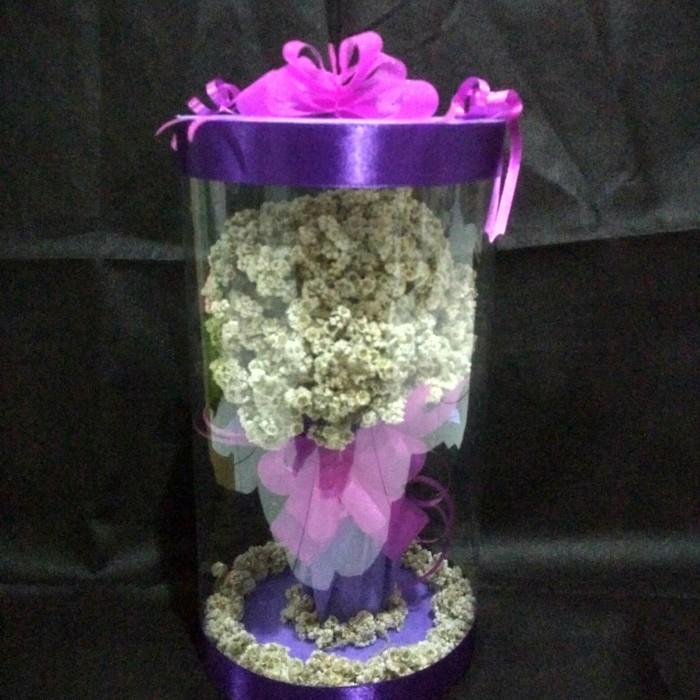 Jual Bunga Edelweis Tabung Kota Yogyakarta Bunga Edelweis Tokopedia