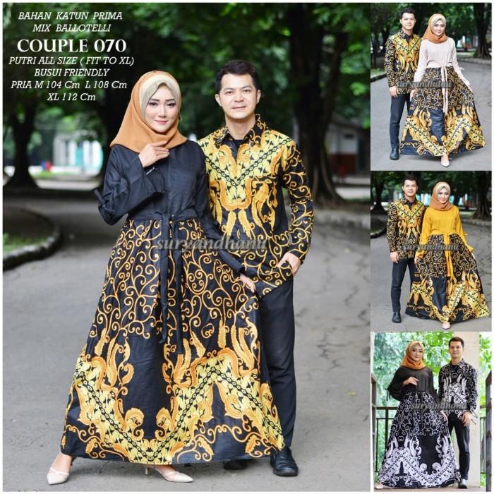 Jual Couple 070 Model Gamis Batik Terbaru 2019 Kota Surakarta Central Batik Tokopedia