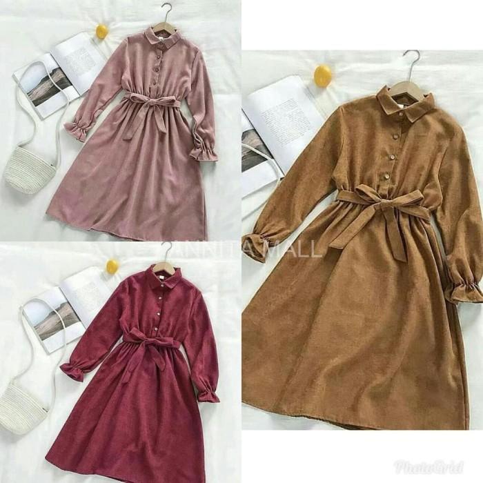 Jual Baju Muslim Dress Muslim Gamis Diora Tunik Baju Wanita Ukuran Jumbo Jakarta Barat Annita Mall Tokopedia
