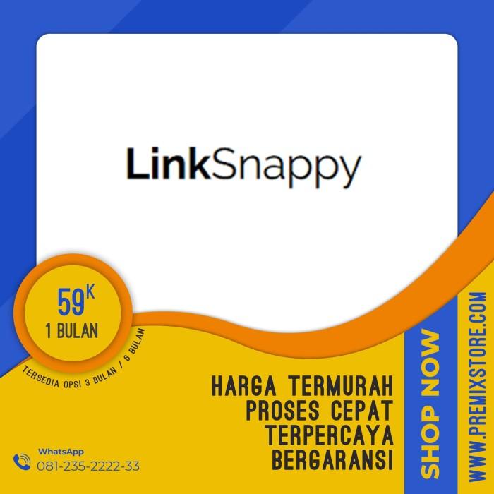 Jual [TERLARIS] Akun LinkSnappy Murah & Bergaransi - PremixStore - Kab   Pasuruan - PremixStoreID   Tokopedia