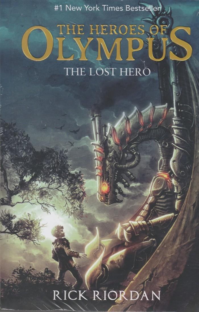 harga The lost hero - the heroes of olympus #1 Tokopedia.com