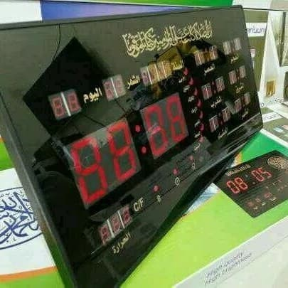 Foto Produk jam dinding digital adzan Xy4622y dari zahwaherbal