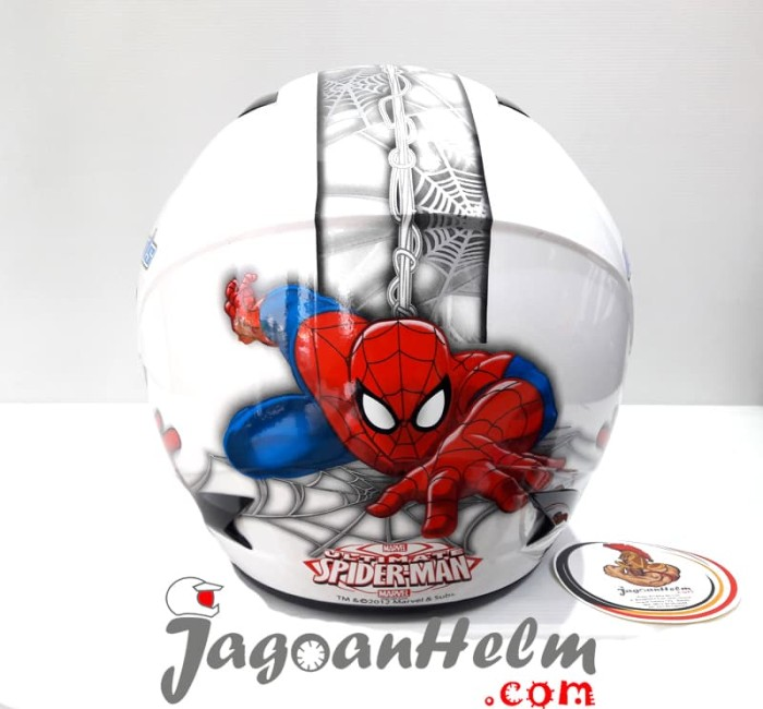 harga Mds helm cartoon sport spiderman #3 - dewasa Tokopedia.com