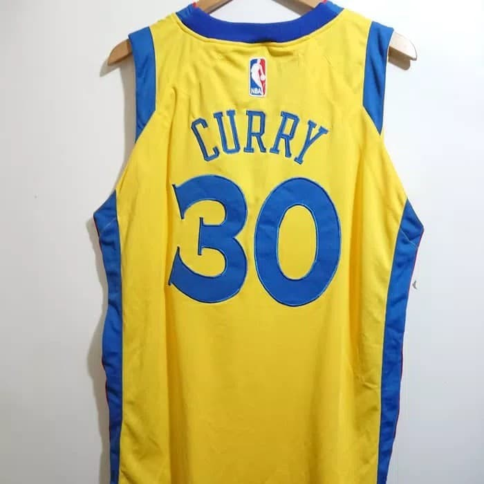competitive price 6be53 1bf37 Jual SETELAN JERSEY BASKET NBA GOLDEN STATE WARRIORS THE BAY STEPHEN CURRY  - Kota Bandung - Sporty Shop ID | Tokopedia