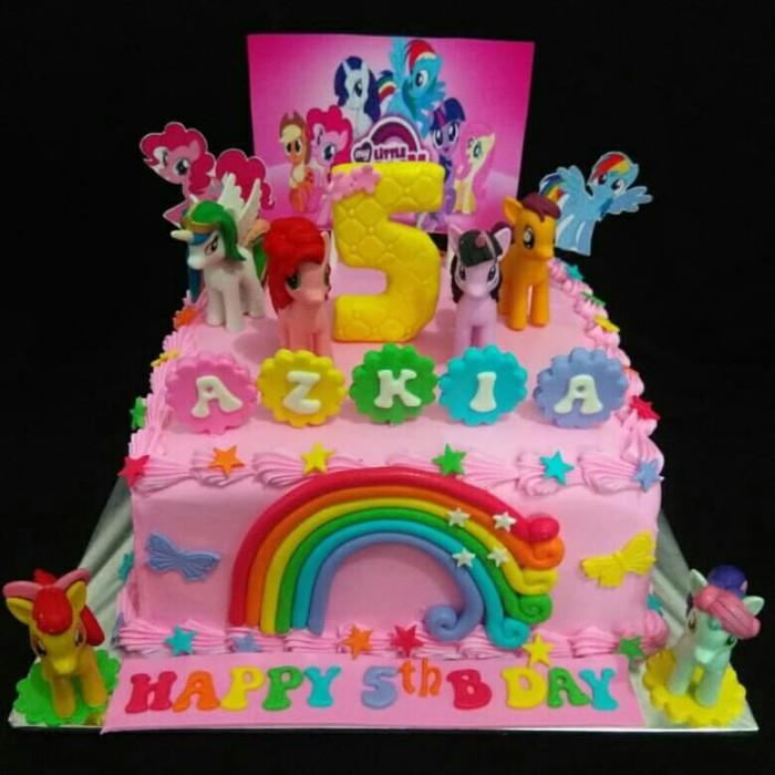 Jual Kue Ulang Tahun Kuda Poni 22cm Triple Coklat Raline Cake Jakarta Barat Raline Cake Tokopedia