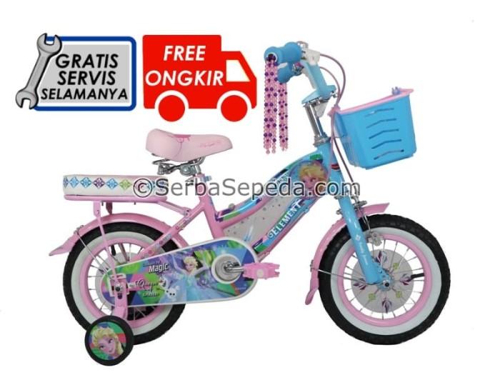 harga Sepeda anak element frozen 1.0 12 Tokopedia.com