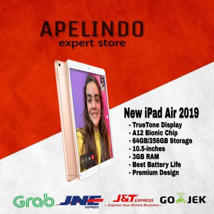 harga Ipad air 10.5 256gb 256 wifi cellular 2019 Tokopedia.com