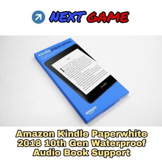 harga Amazon kindle paperwhite 10th gen ebook 2018 waterproof - 8gb - black Tokopedia.com