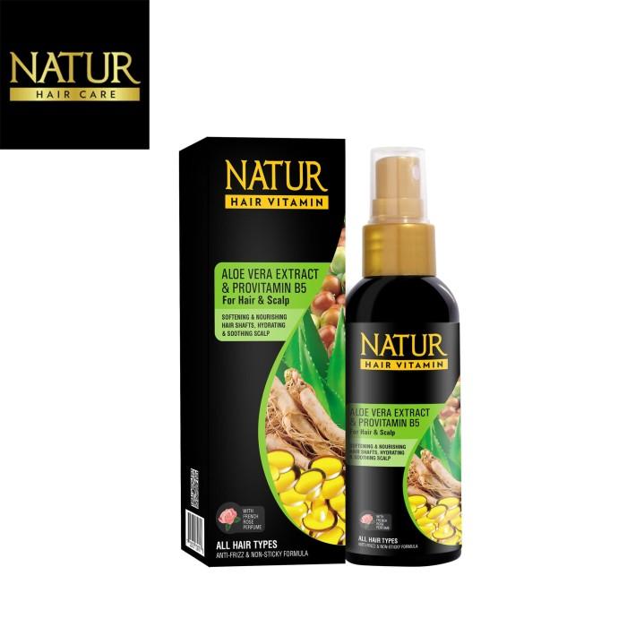 Foto Produk Natur Hair Vitamin Aloevera 80 ML dari Back To Natur