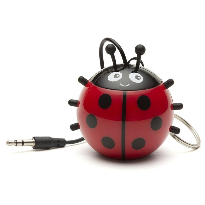 harga Optimuz mini buddy portable speaker karakter ladybird / kumbang Tokopedia.com