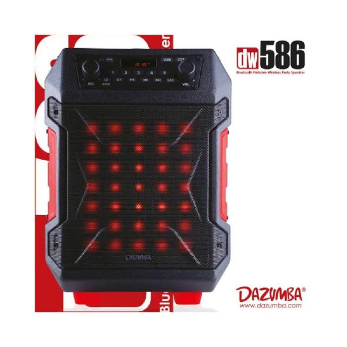 Jual Speaker Karaoke Outdoor Bluetooth Super Duper Bass 2 Colokan Dazumba D  - DKI Jakarta - titi shop6 | Tokopedia