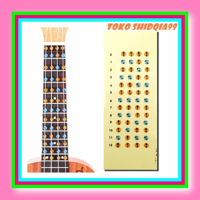 This is a graphic of Guitar Fretboard Notes Printable inside natural