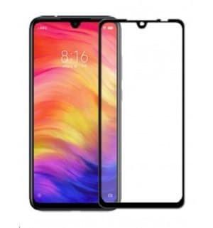 Foto Produk Tempered Glass FULL COVER Xiaomi Redmi Note 7 - Hitam dari Cellular Mas