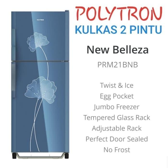 Jual Polytron Prm 21bn Kulkas 2 Pintu New Belleza Prm21bn
