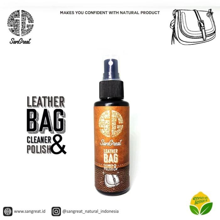 Foto Produk Leather bag polish and cleaner, pembersih tas kulit, semir tas kulit dari Aliya Sprei
