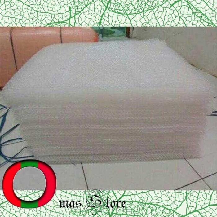 Foto Produk Eceran Bubble Wrap Meteran 1 x 1.25 Meter Plastik Gelembung Akurat dari Oma's