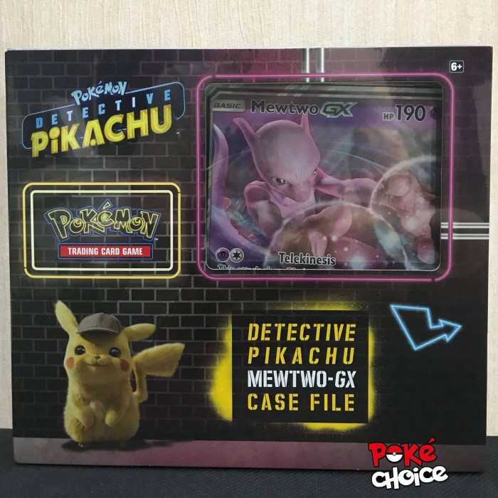 Jual Pokemon Card Detective Pikachu Mewtwo Gx Case File Collection