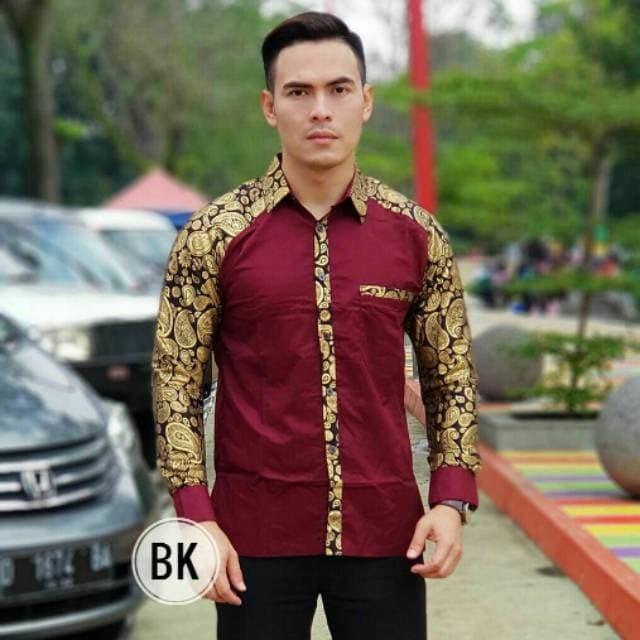 10+ Ide Model Baju Batik Kombinasi Pria 2019
