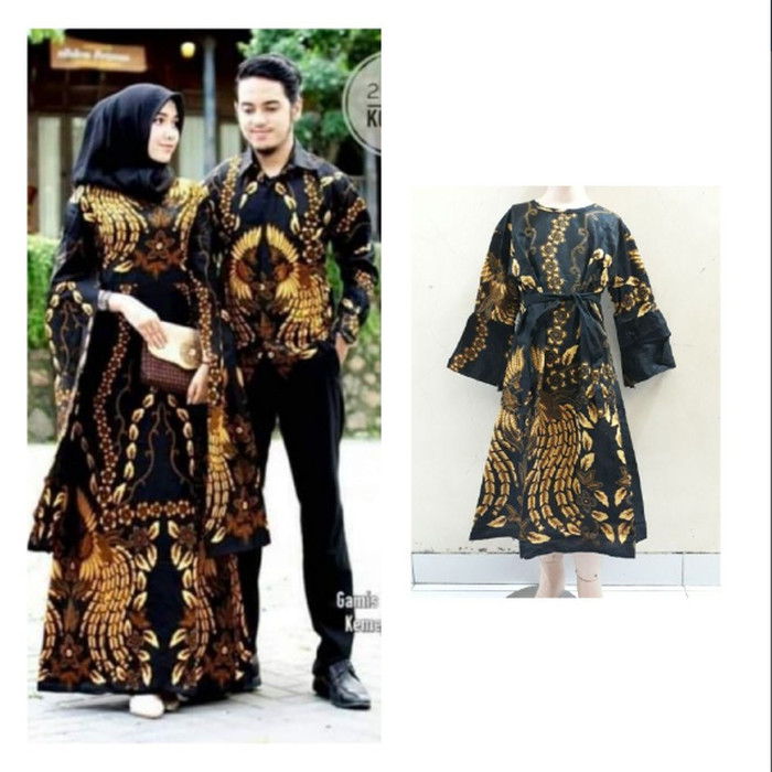 Jual Promo Baju Batik Couple Keluarga Gamis Kelelawar Kemeja Lengan Panjang Kota Pekalongan Batik Batas Kota Tokopedia