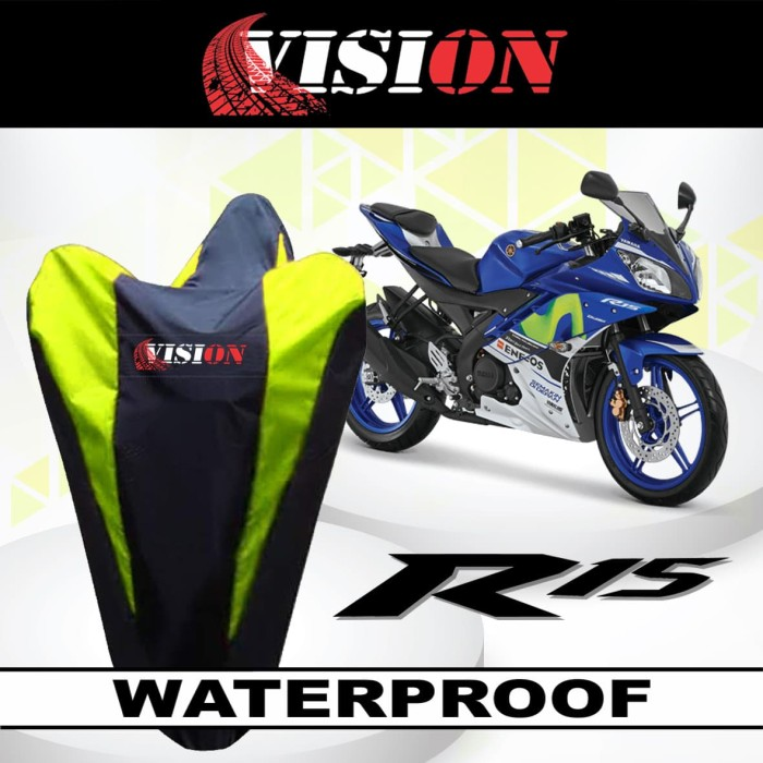Jual Sarung Motor Vision Yamaha R15 Anti Air Cover Body