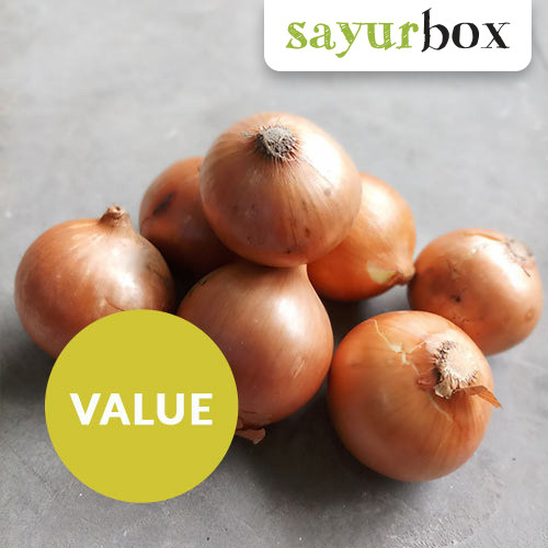 Foto Produk Bawang Bombay / Onion Value (500gr) dari Sayurbox