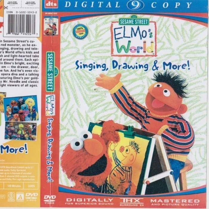 Jual Dvd Kartun Elmo S World Singing Drawing More Jakarta Timur Lumayan5177 Tokopedia