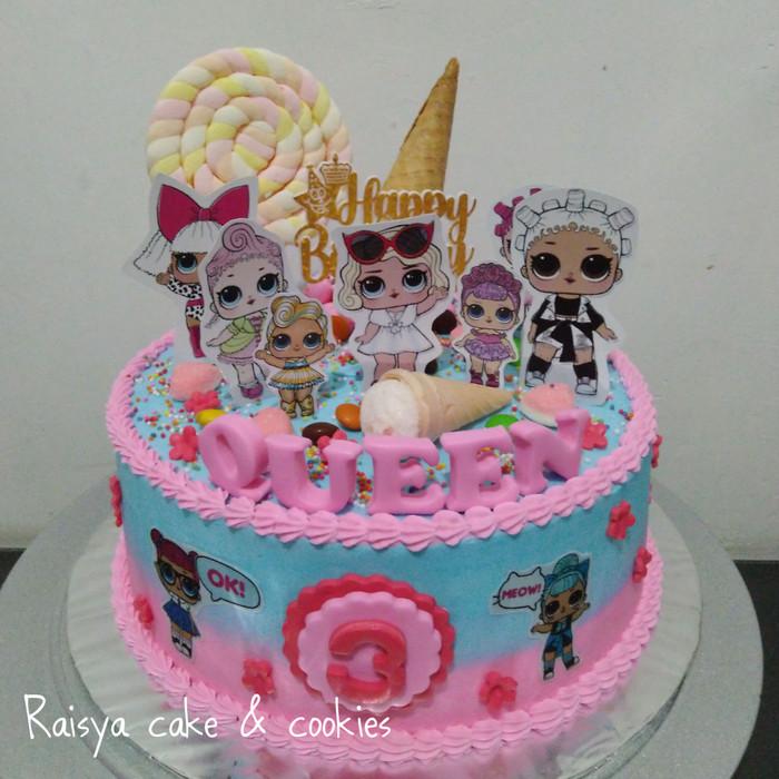 Jual Kue Ulang Tahun Lol Jakarta Utara Raisya Cake Cookies Tokopedia
