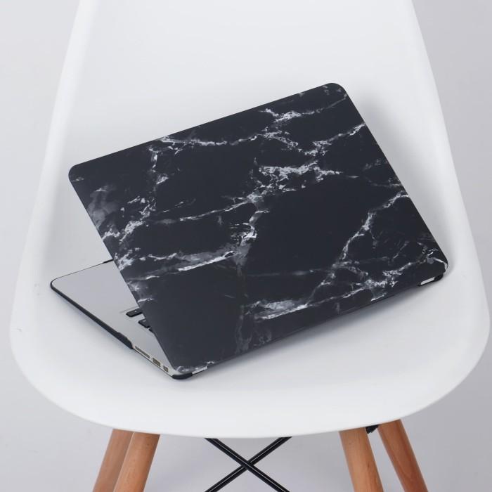 harga Case macbook pro 13 15 inch touchbar / non touchbar black grey marble Tokopedia.com