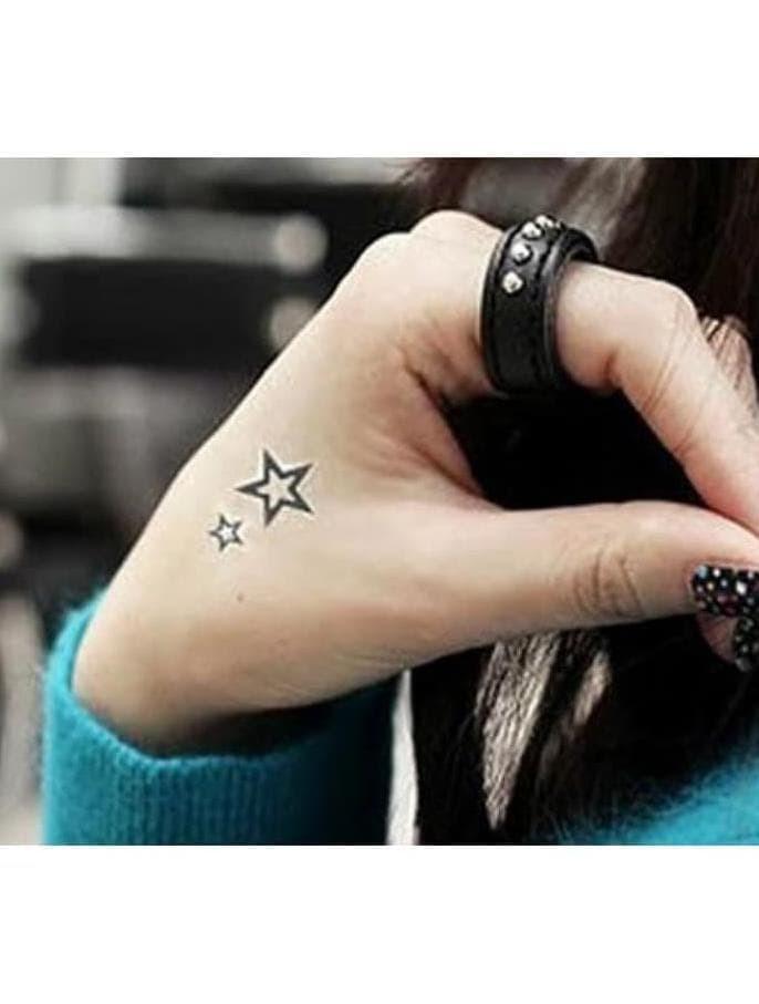 Jual Baru Tato Sementara Murah Sticker Tato Star Bintang 30 31 Terlaris Jakarta Barat Dwi Rahma Setyarini Acc Tokopedia