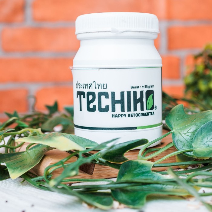 Foto Produk Techiko Keto Green Tea / Teh Hijau Keto - 55g dari Genki Plant