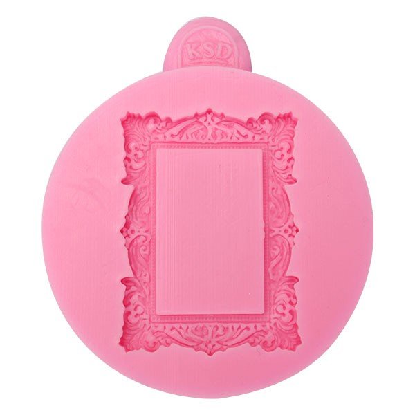 Jual Square Frame Fondant Mold Silicone Mould Kue Decoration Tool