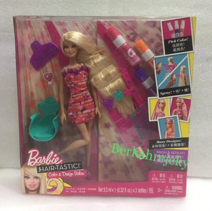 Color And Design Salon Barbie.Jual Boneka Barbie Hair Tastic Color Design Salon Original Matel Murah Dki Jakarta Doni Galeri Tokopedia