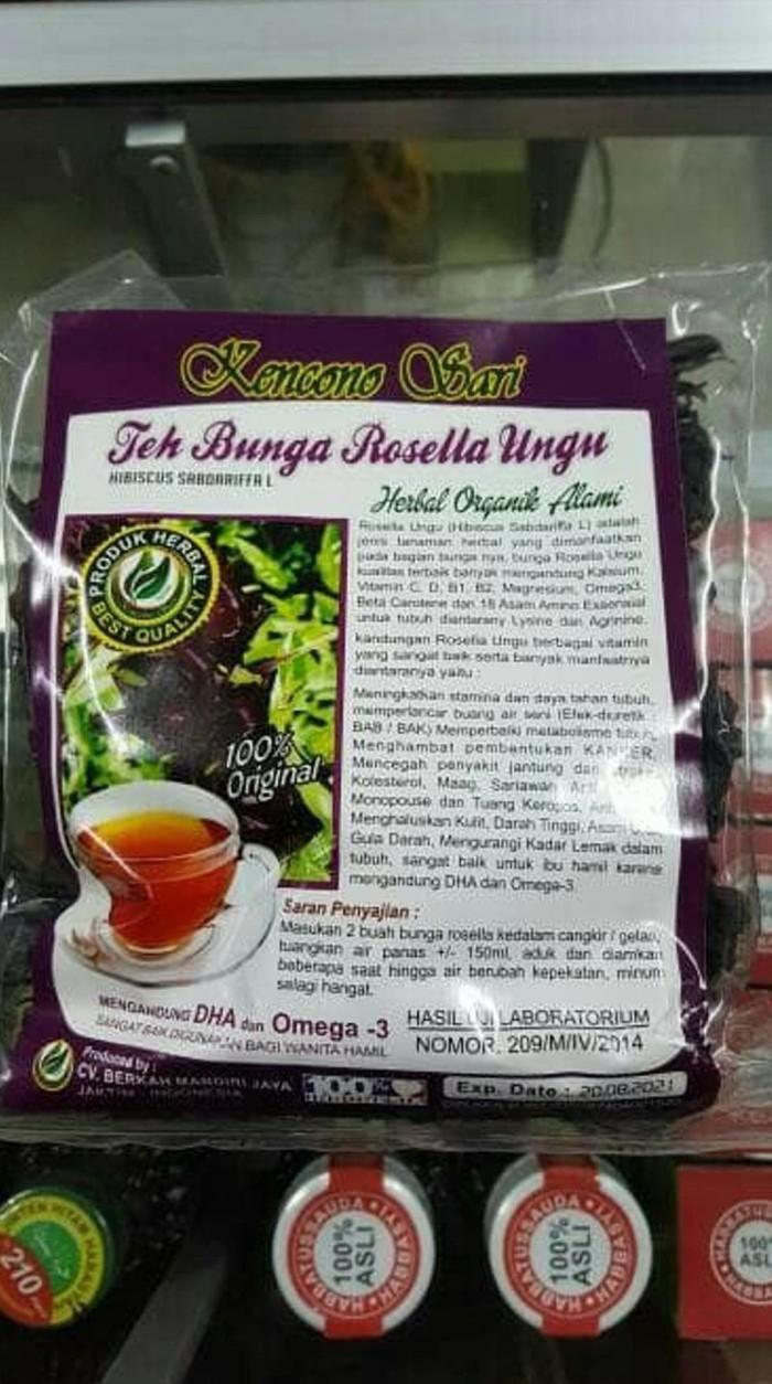 Jual Teh Bunga Rosella Ungu Kencono Sari Original Jakarta Barat Ruslilie
