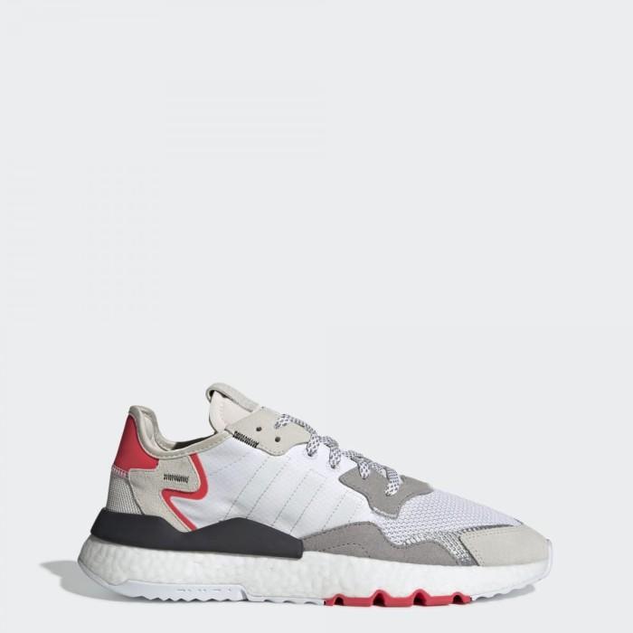 Jual nite jogger shoes - Putih, 43