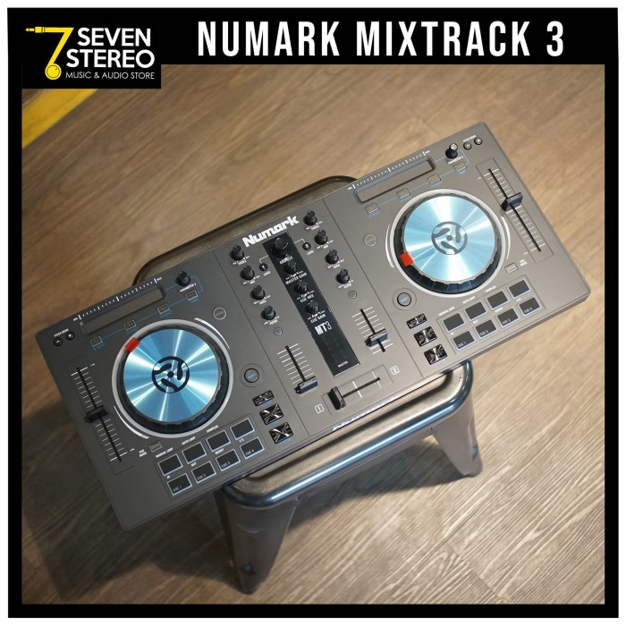 harga Numark mt3 mixtrack3 dj controller mixtrack 3 Tokopedia.com