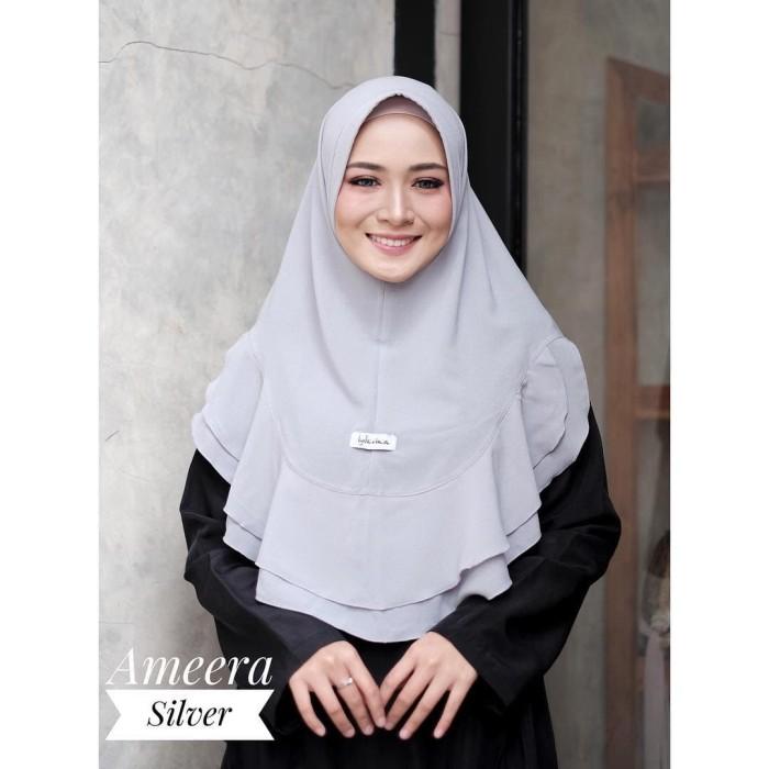 Foto Produk Best Seller Jilbab Hijab Bergo Kerudung Amira Instan Murah dari Grosir Hijabers