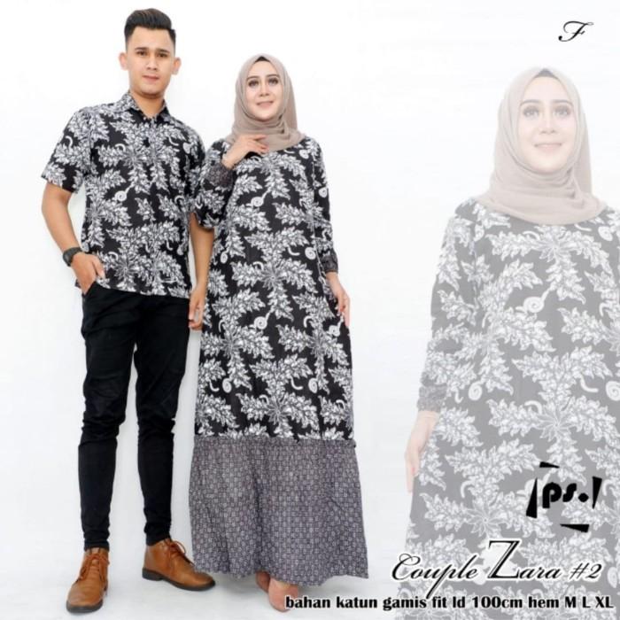 Jual Baju Batik Couple Gamis Sarimbit Batik Baju Batik Couple Keluarga Kota Pekalongan Ilul Sy Batik Tokopedia