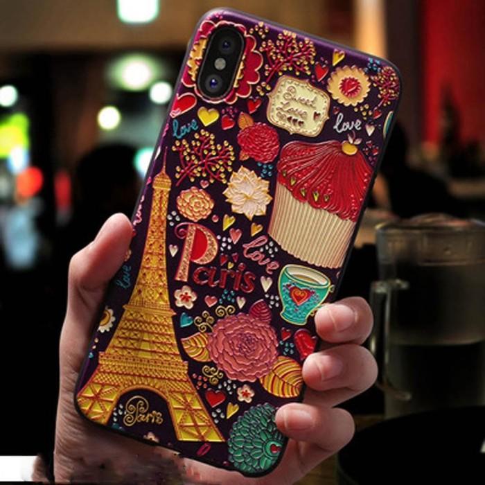 Foto Produk Casing 3D Eiffel Paris Softcase iPhone 6 6S 7 8 Plus X XR XS Max - 6P atau 6SP dari iShop Here