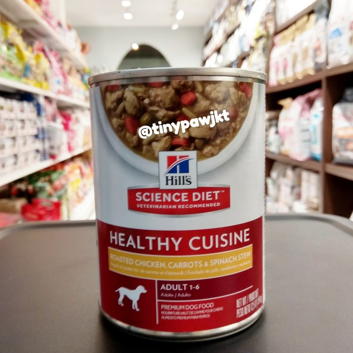 Jual Science Diet Healthy Cuisine Adult For Dog 370gr Wet Food