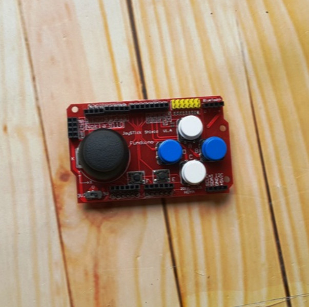 3.3-5V Gamepad Joystick Shield Module For Arduino Simulated Keyboard Mouse EA