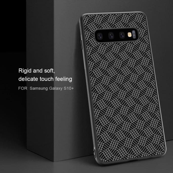 harga Samsung galaxy s10e s10 lite nillkin synthetic fiber plaid hard case Tokopedia.com
