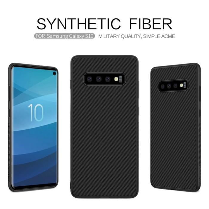 harga Samsung galaxy s10 lite s10e nillkin synthetic fiber carbon hard case Tokopedia.com